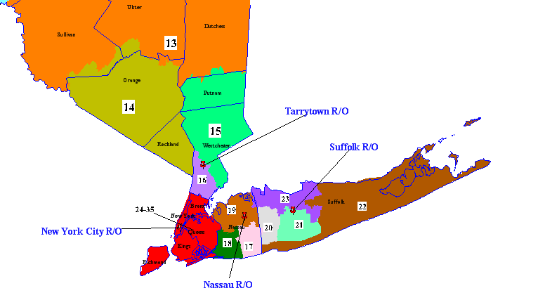 NYSUT Election Districts NYSUTorg - New york city election district map