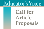 Educator's Voice - Call for Proposals