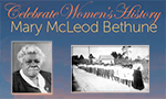 Women's History Month - Mary McLeod Bethune