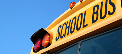 school-related professionals - school bus