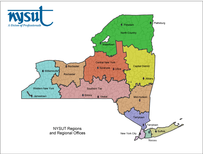 NYSUT Regional Offices