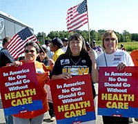 health care reform activists
