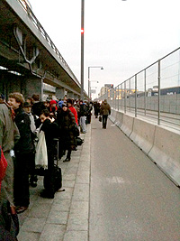 long lines in Copenhagen