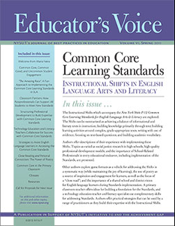 educators voice vi: common core learning standards