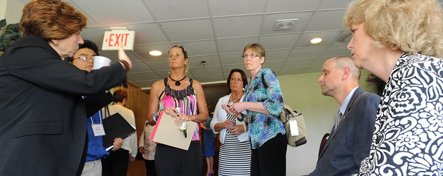 weingarten meets with teacher leaders