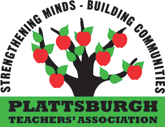 Plattsburgh Teachers' Association logo