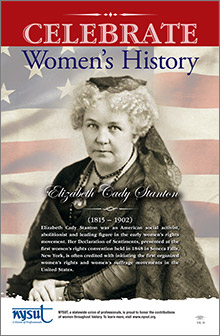 women's history poster