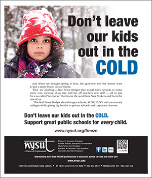 kids in cold ad