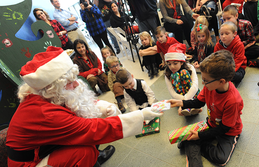 American Heart Association 'Cardiac Kids' holiday event