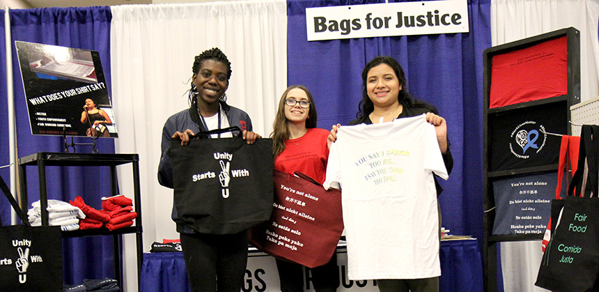 bags for justice students