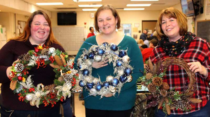 Pictured here are members of the Bethlehem Central United Employees: Amy Hunter, Danika Raup, and Jackie Hill