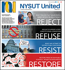 nysut united march 2017