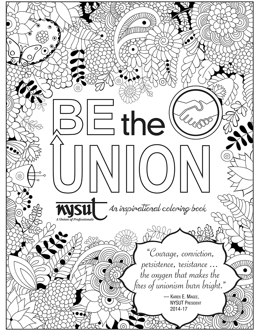 nysut coloring book