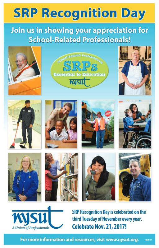 SRP Recognition Day Poster