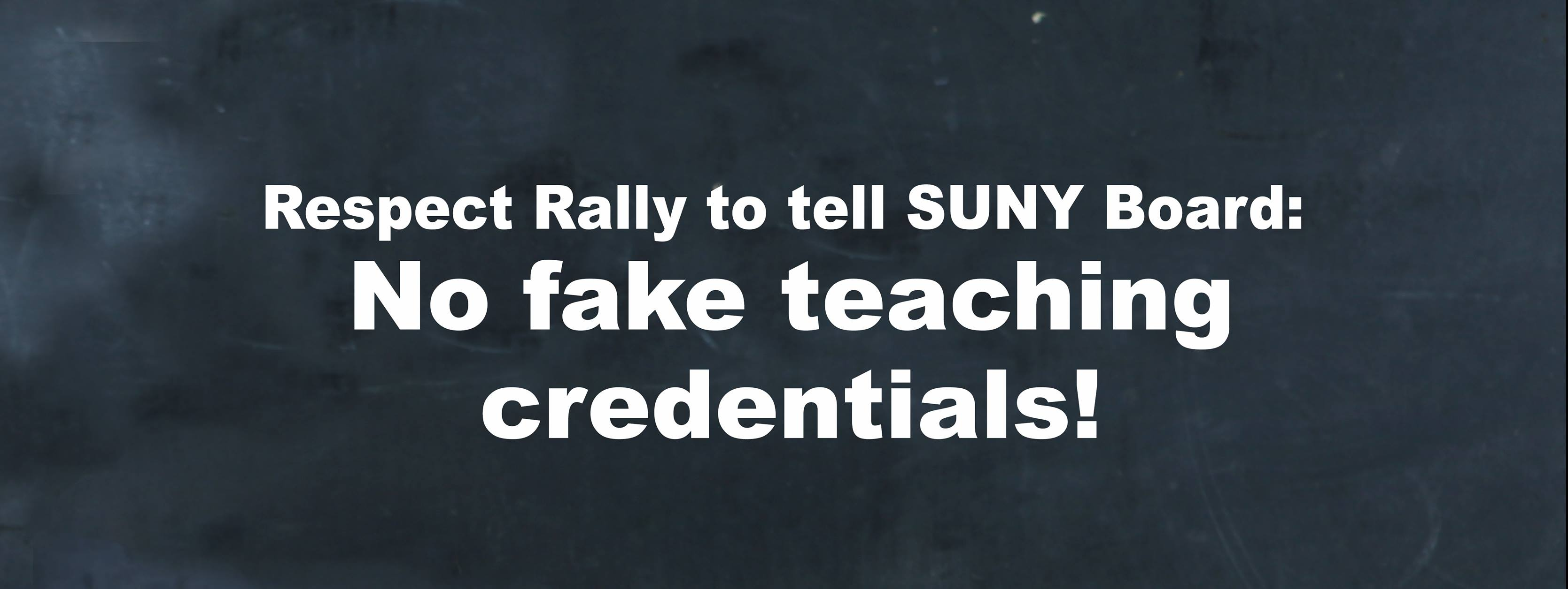 Activists and parents to rally against \'fake teaching credentials ...