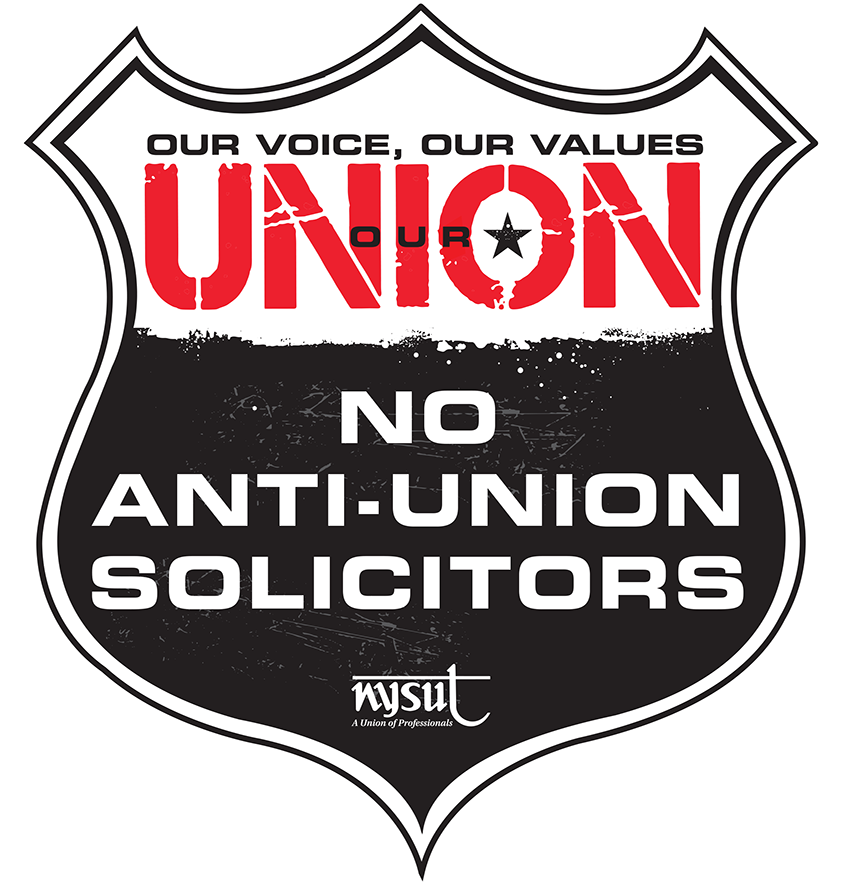 no anti-union solicitors
