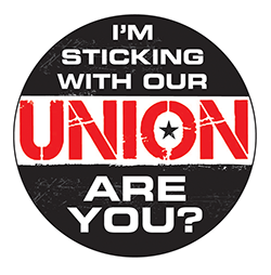 sticking with our union