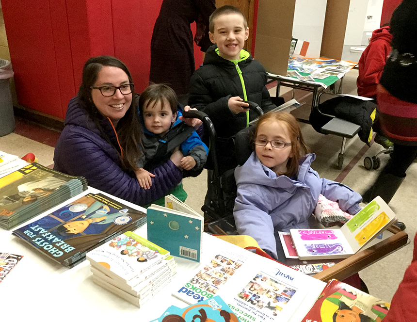 read across american in saranac lake