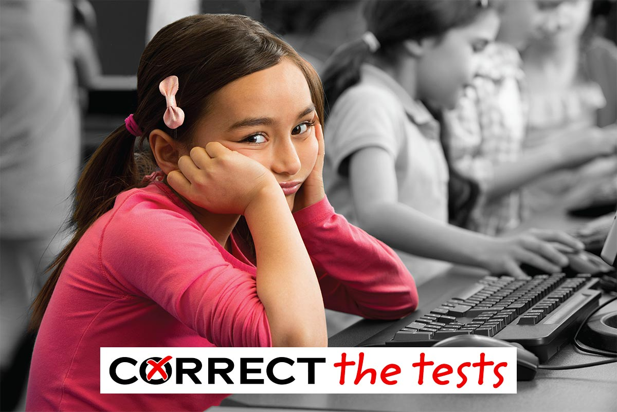 correct the tests