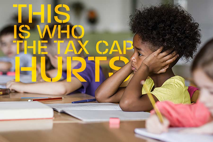 no permanent tax cap