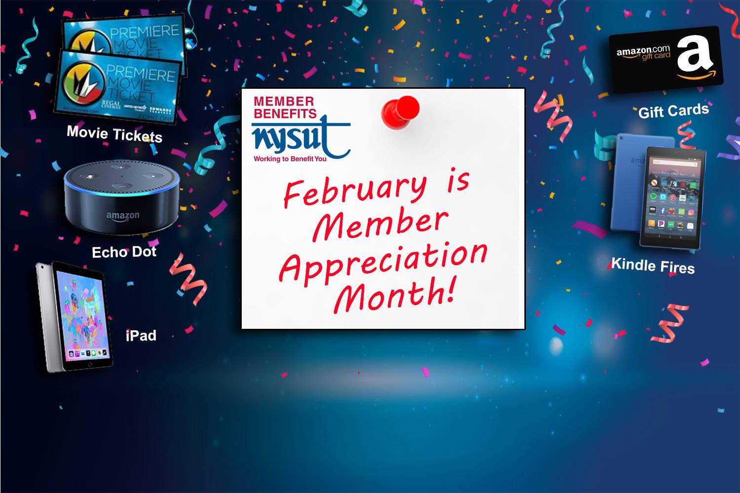 member appreciation month