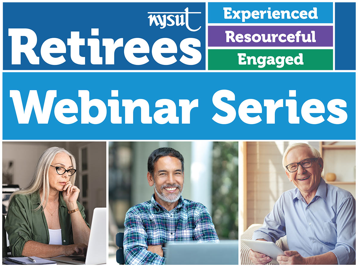 retiree webinars