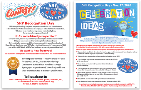 SRP Recognition Day Contest flier