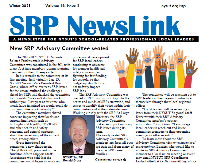 SRP Newslink - Winter 2021