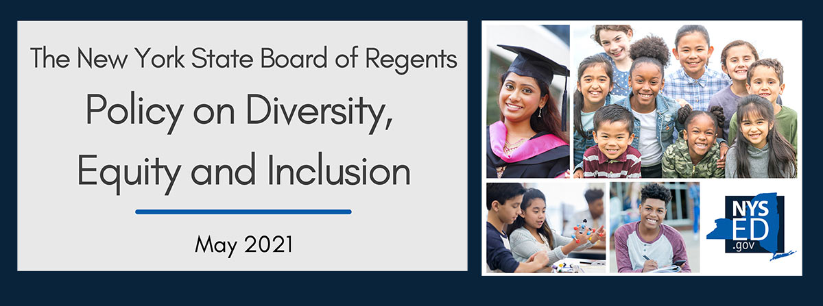 NYSED Policy on Diversity, Equity and Inclusion