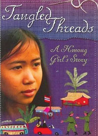 Check it out - Tangled Threads: A Hmong Girl's Story cover