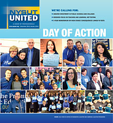 NYSUT United cover December 2013