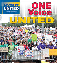 nysut united july cover rally