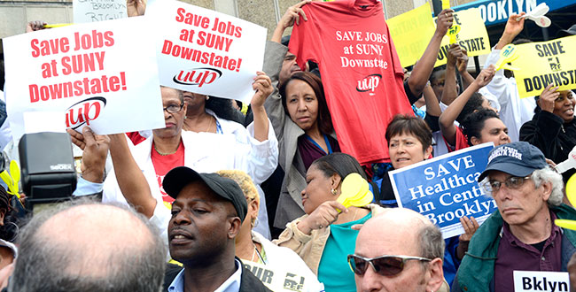 suny downstate rally