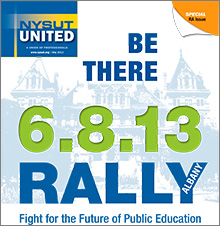 nysut united may 2013 rally 6.8.13