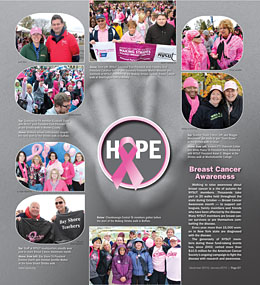 NYSUT United December 2014 Page 27 - Making Strides