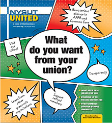 NYSUT United July/August 2014 cover