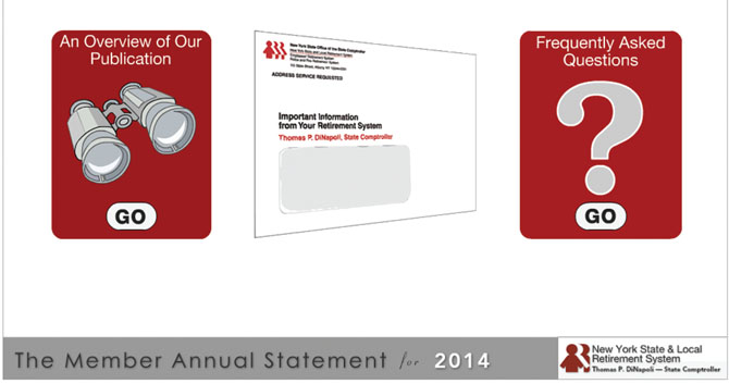 ERS: Member Annual Statement FAQs