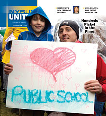NYSUT United cover May/June 2014
