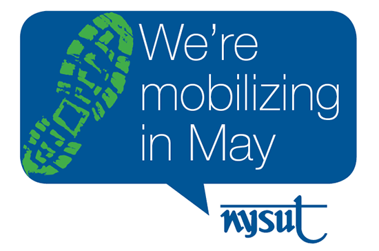 We're mobilizing in May