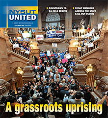 NYSUT United April 2015 cover