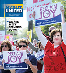 NYSUT United cover June 2015