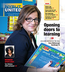 NYSUT United cover April 2016
