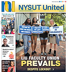 NYSUT United cover Fall 2016