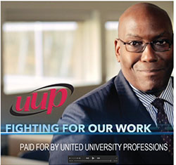 UUP campaign - fighting for our work