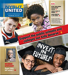 NYSUT United cover March 2016