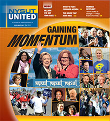 NYSUT United May 2016 cover