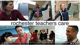 A new, three-year video project — Rochester Teachers Care by the Rochester Teachers Association