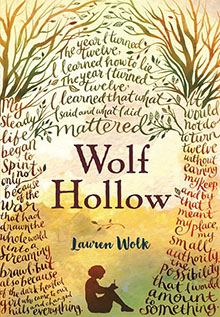 Check it Out: Wolf Hollow book cover