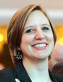 Amy Hysick, the 2017 New York State Teacher of the Year,
