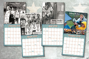 The 2017–18 VOTE-COPE commemorative calendar